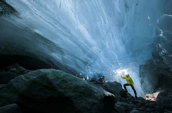 International Camp of Speleology-Glaciology 2014 - Gorner Glacier (CH)